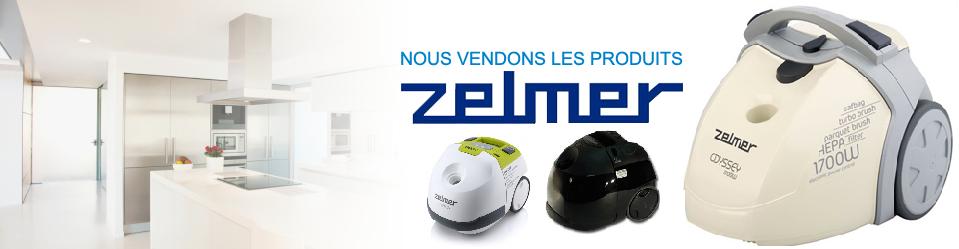 Balayeuse et aspirateur marque Zelmer, fabriqué en Europe en vente chez Aspirateur Québec, à Québec